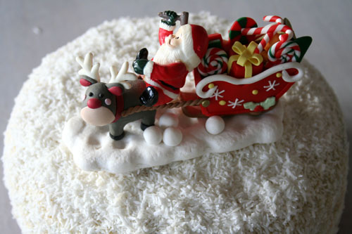 Nuts On Christmas Cake For Decoration : Christmas Eve Bit of the Good Stuff