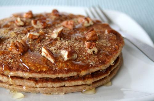 Apple & Cinnamon Pancakes