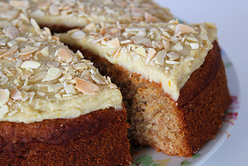 This Cake Is Beautifully Moist And Has The Most Delicious Almond