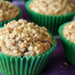 Mama Pea Blueberry Streusel Muffin