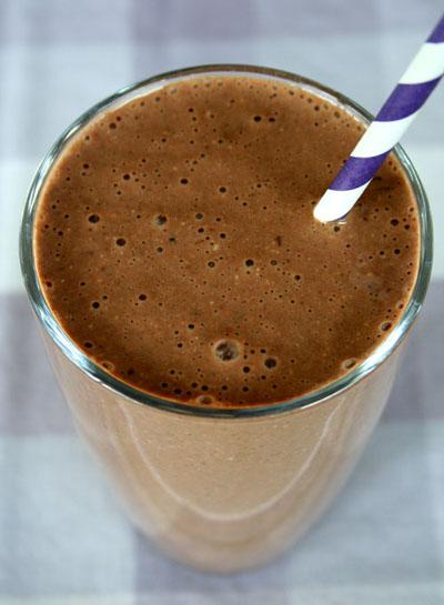 Chocolate Banana Energy Milkshake
