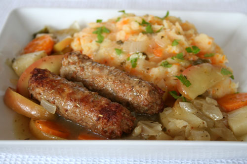 Sausage & Apple Casserole - 500
