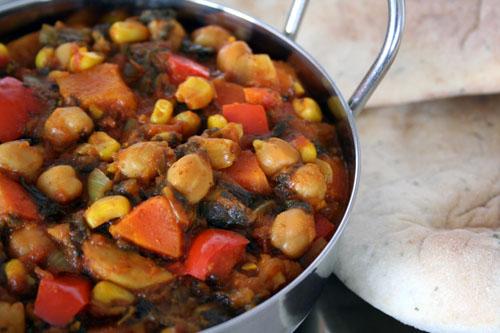 Chickpea & Vegetable Balti