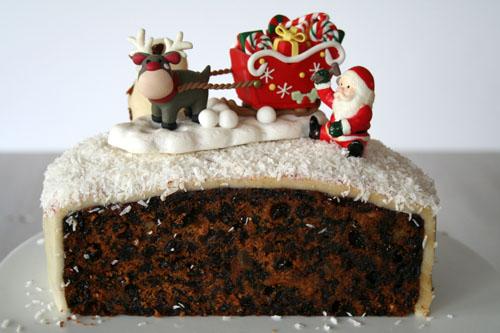 Christmas Cake 2012 - 500