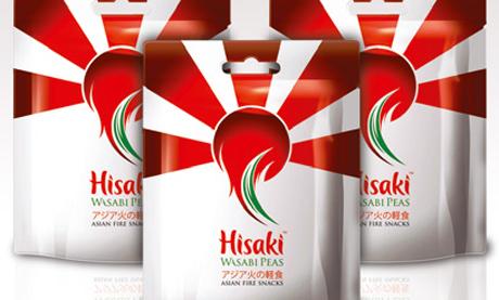 Hisaki Wasabi Peas