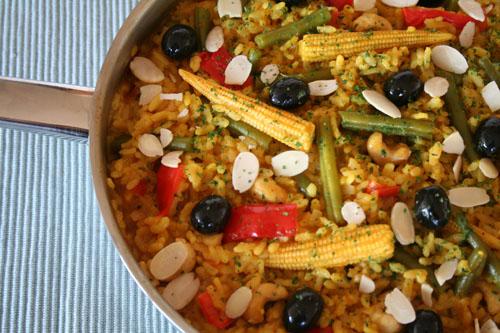 Spanish Veggie Paella 3 - 500