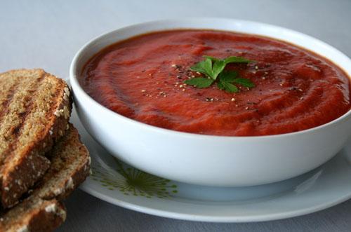 Tomato & Lentil Soup 500