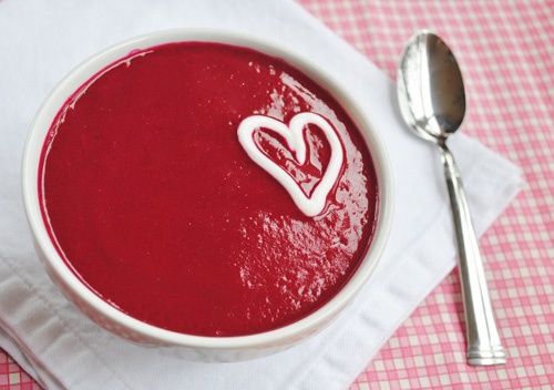 Sweet Beet 'Love' Soup