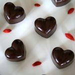 Chocolate Goji Almond Hearts 1 - 500