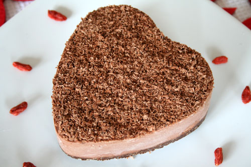Raw No Bake Chocolate Cashew Cream Cake - 500 2