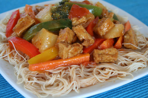 Sweet n Sour Stir Fry