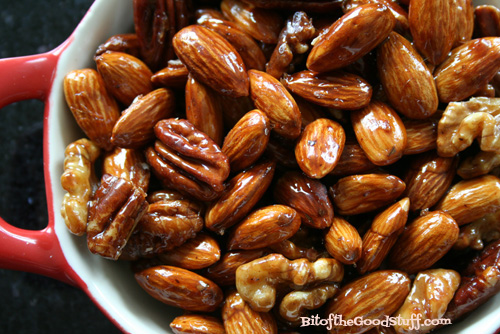 Mapled Glazed Nuts