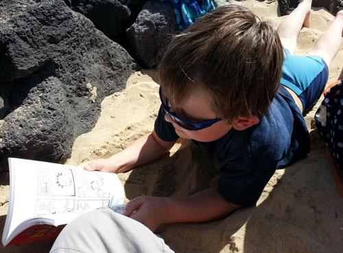 Beach Reading in Lanzarote - 500