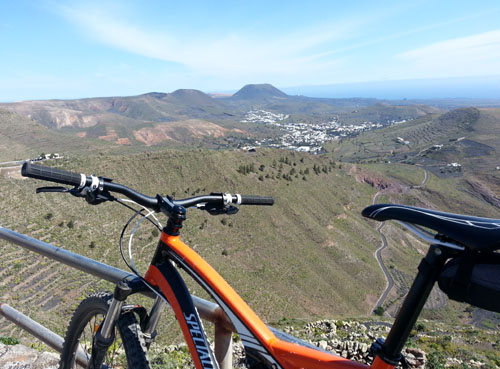Biking in Lanzarote - 500