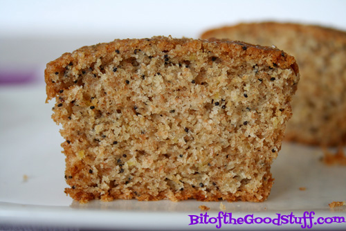 Vegan Lemon Poppy Seed Muffin