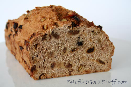 Cinnamon Raisin Loaf Dairy Free Yeast Free Vegan