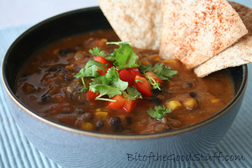 Mexican Black Bean Soup