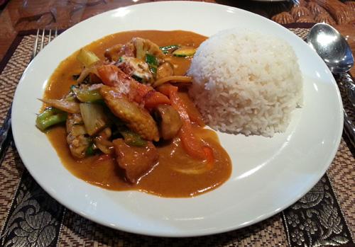 Thai Basil - Thai Red Curry