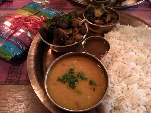 Yak Yeti Yak - Vegetarian Platter
