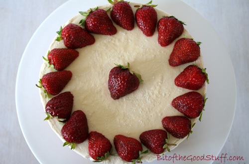 Strawberry Dairy Free Cheese Cake