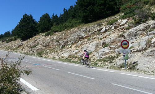 Me on Mont Ventoux Summer 2013 2