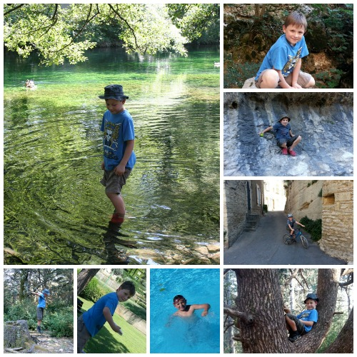 Provence Activity Collage