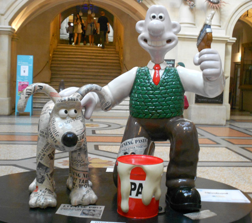 Wallace & Gromit Bristo