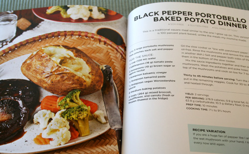 Vegan Slow Cooking - Portobello Dinner