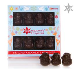 Montezumas Dark Chocolate Snowmen