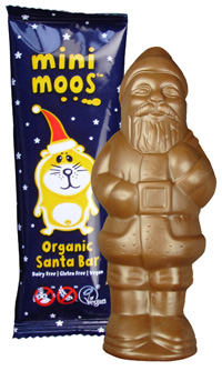 Moo Free Dairy Free Santa Chocolate