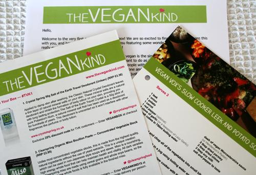 The Vegan Kind Subscription Box