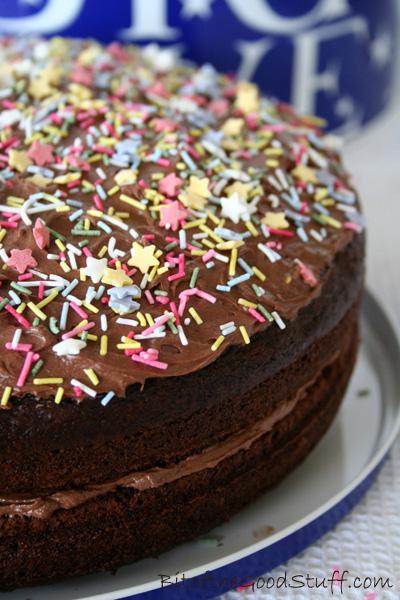 Vegan Chocolate Victoria Sponge Sandwich Cake 400 copy