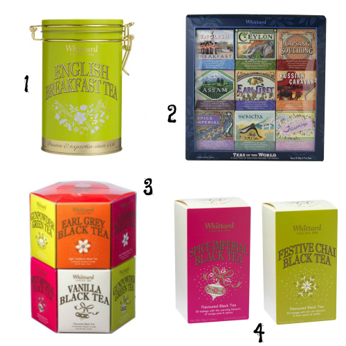 Whittard Tea Gift Ideas