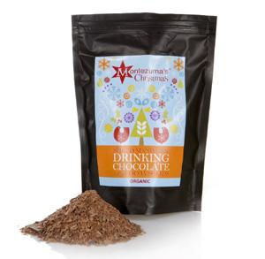 Montezumas Spiced Mandarin drinking chocolate