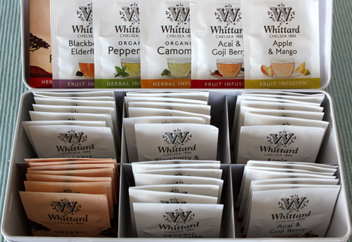 Whittards Fruit and Herbal Tea Selection