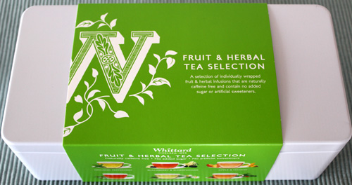 Whittards Herbal and Fruit Tea Selection 1