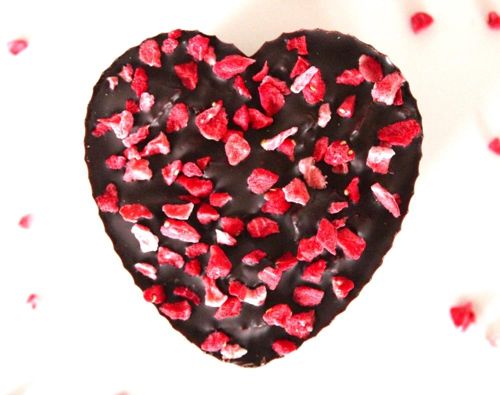 Valentines Chocolate Crunch Hearts Dairy Free Vegan Bit Of The Good Stuff
