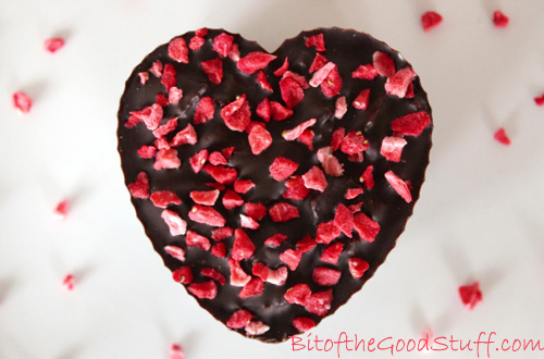 Valentines Chocolate Heart Crunch (Dairy-Free / Vegan)