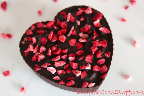 Valentines Chocolate Heart Crunch (Dairy-Free / Vegan / GF option)