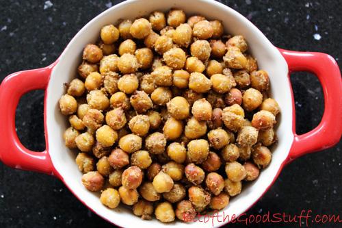 Dukkah Roasted Chickpeas