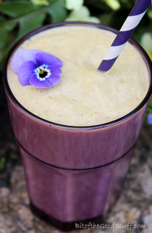 'Rise and Shine' Pineapple Oat Breakfast Smoothie