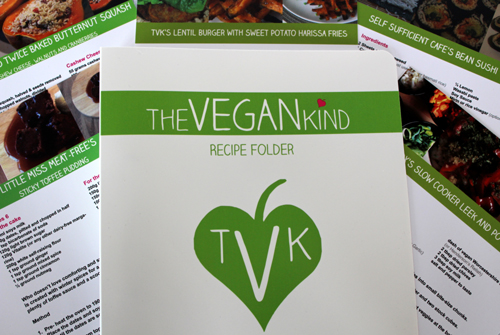 The Vegan Kind Recipe Binder
