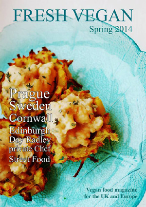 Fresh Vegan Spring 2014 Magazine Cover 300