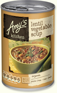 Organic Lentil & Vegetable Soup 200