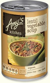 Organic Lentil & Vegetable Soup 200