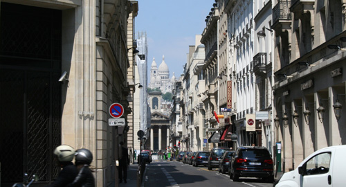Street View of Sacre Coeur