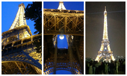 Eiffel Tower Collage