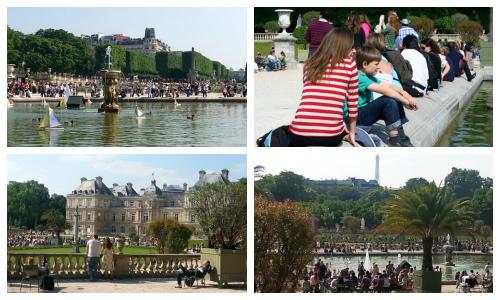 Jardin du Luxembourg Collage