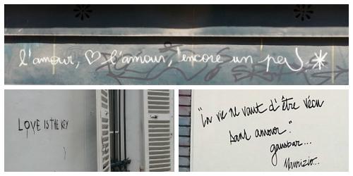 Love Graffiti Collage