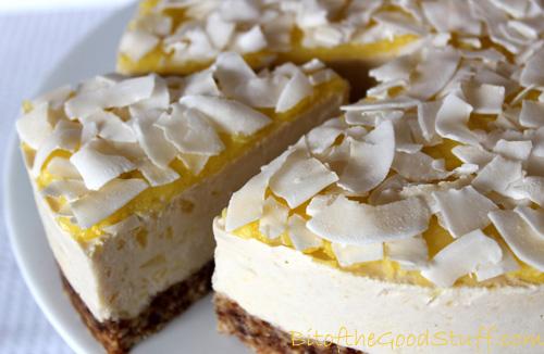 Pina Colada Dairy-free 'Cheese' Cake